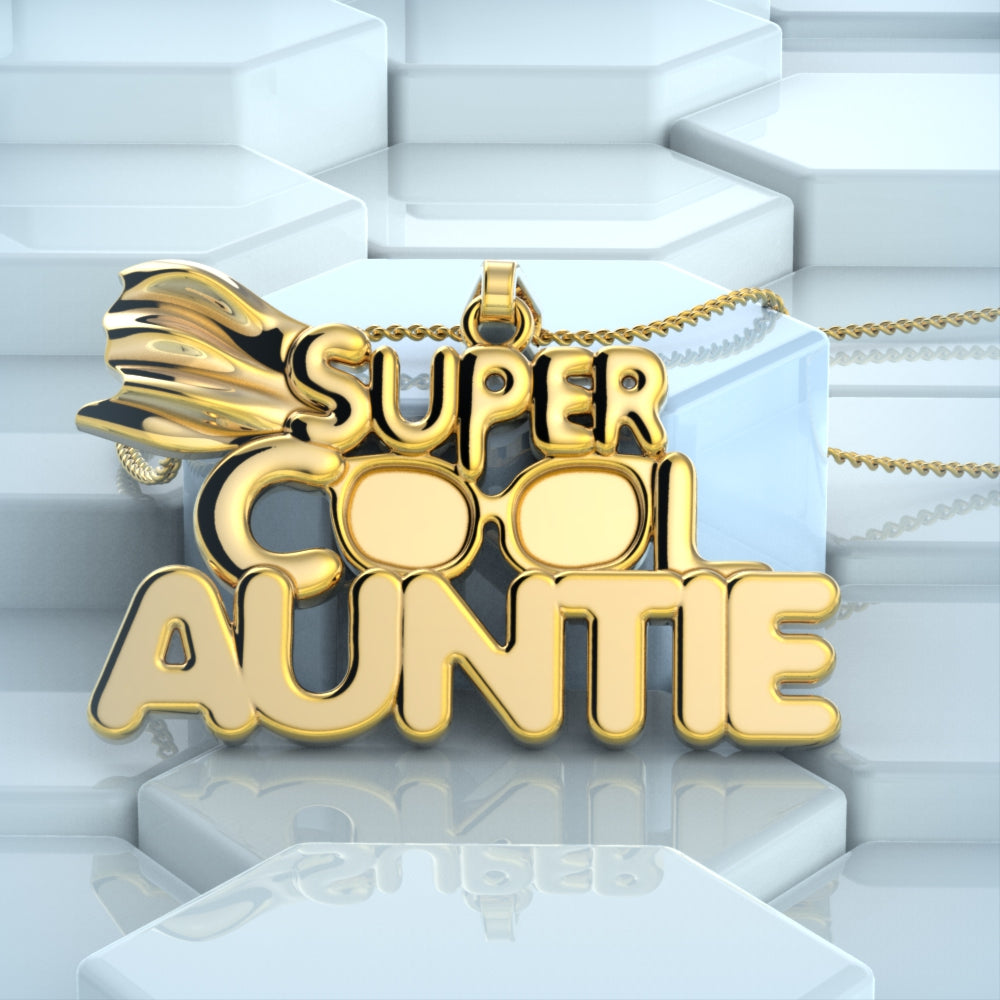 Super Cool Auntie Necklace