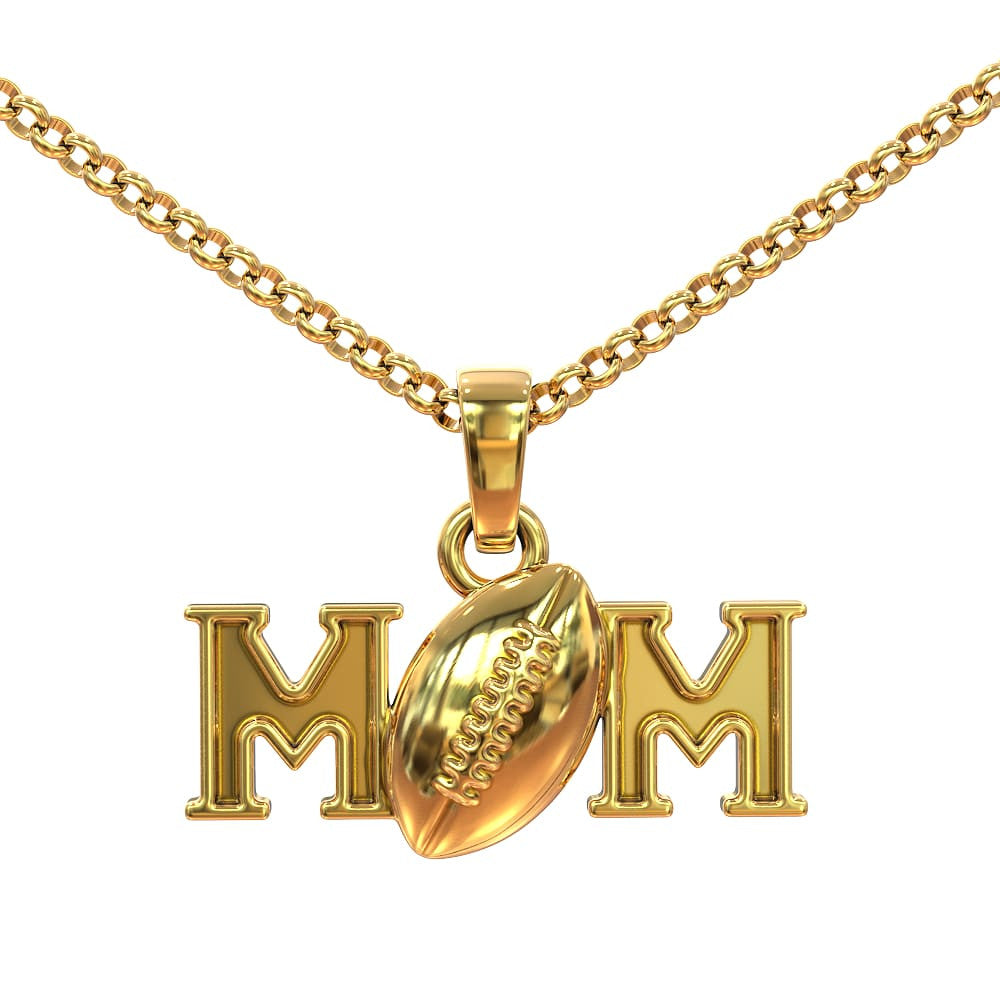 Football Mom Pendant