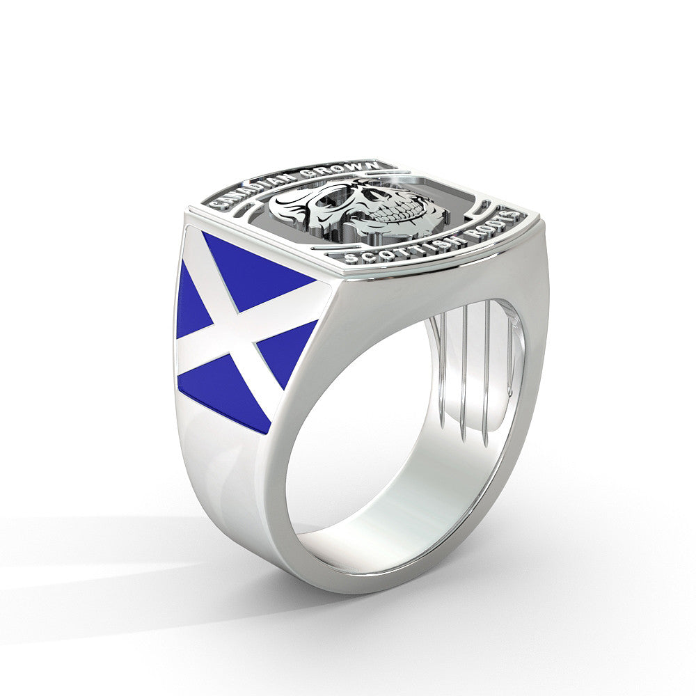 Canadian Grown Scottish Roots Ring