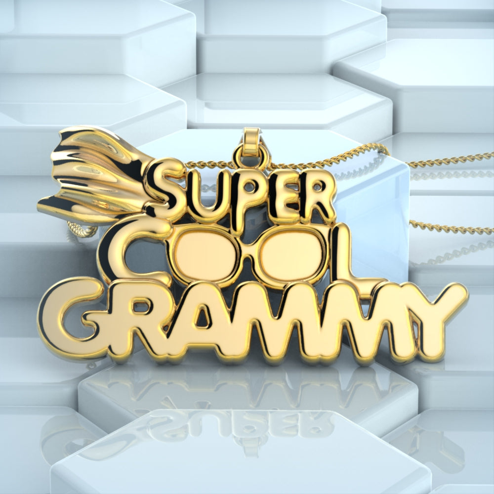 Super Cool Grammy Necklace