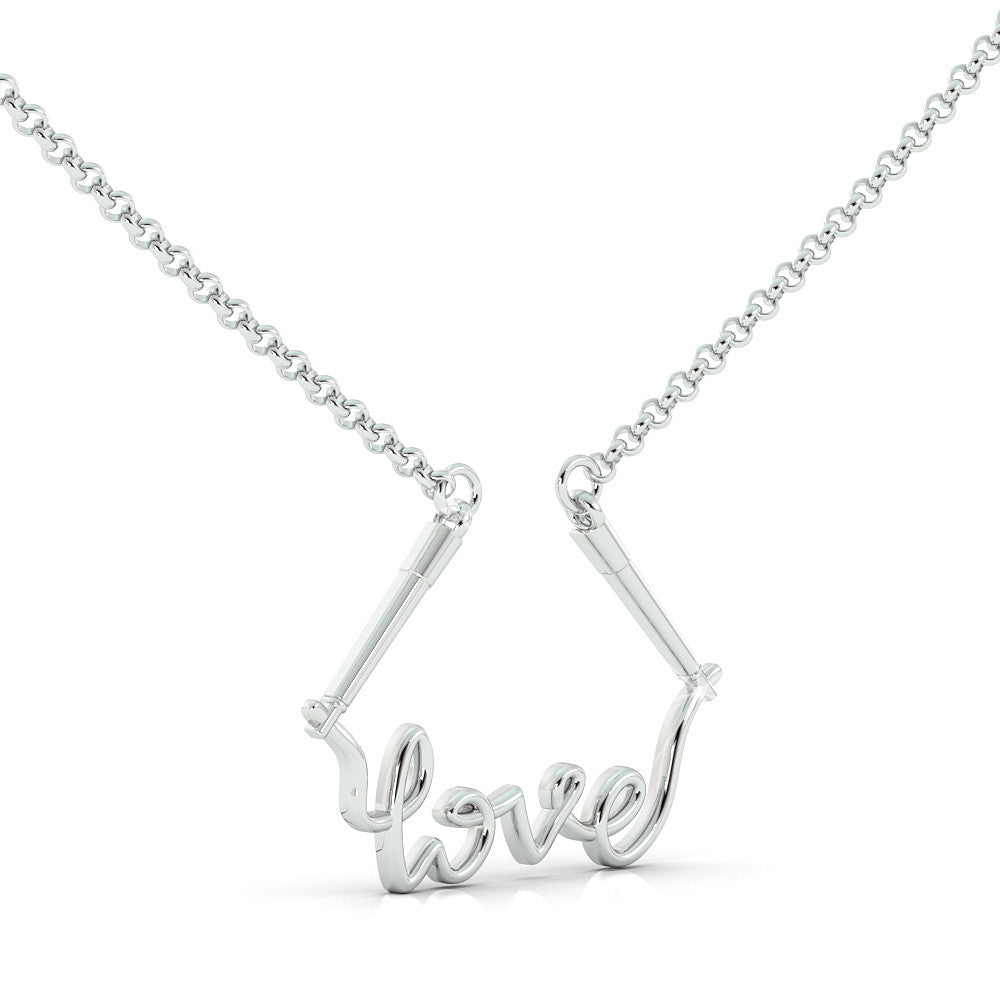 Jump Rope Love - Sterling Silver (.925)
