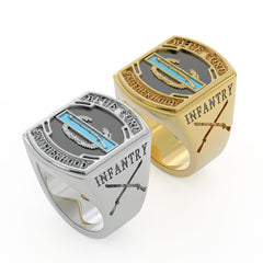 Blue Cord Brotherhood Ring - Limited Edition