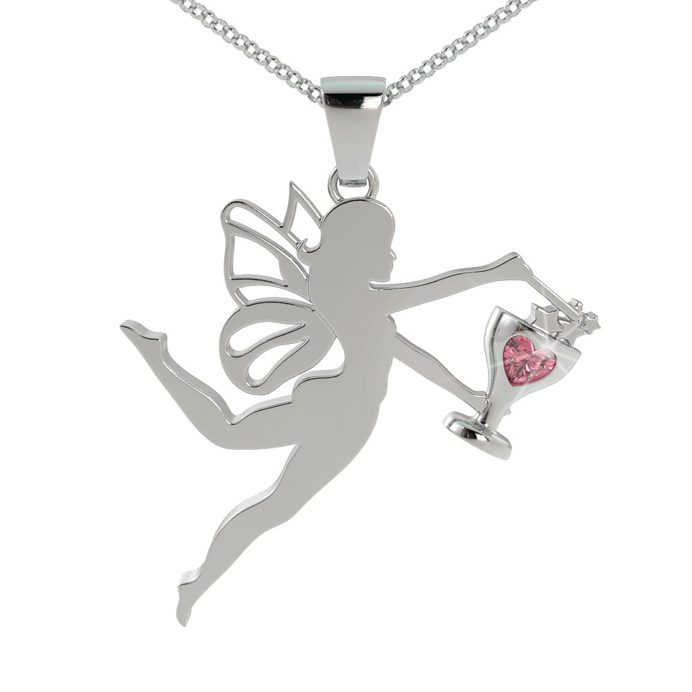 Fairy Dust and Wine Pendant