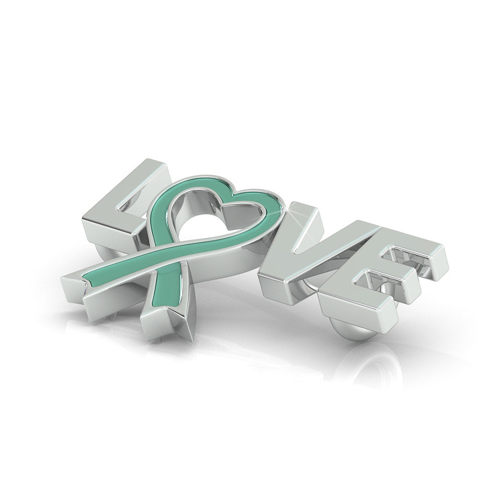 Ovarian Cancer Awareness (.925 silver)