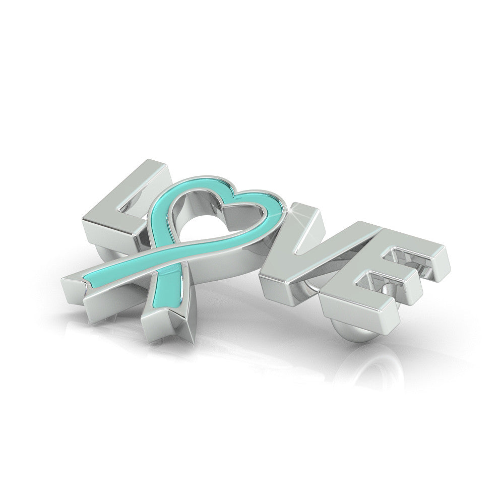 Prostate Cancer Awareness (.925 silver)