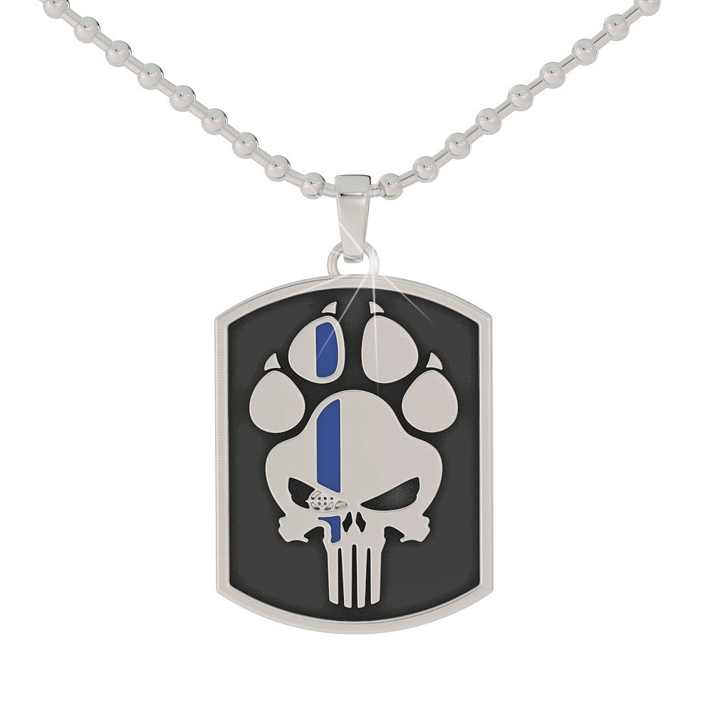K9 Punisher Dog Tag