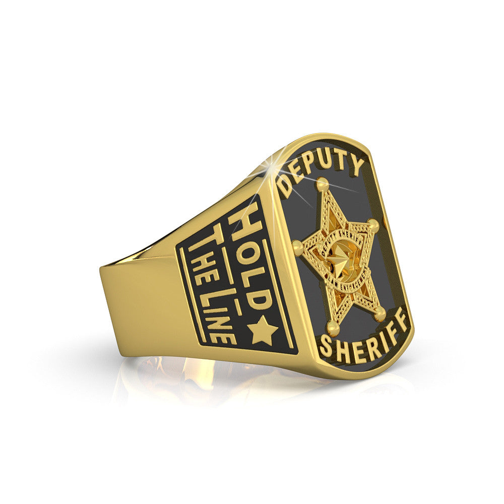 Hold the Line - Deputy Sheriff Ring