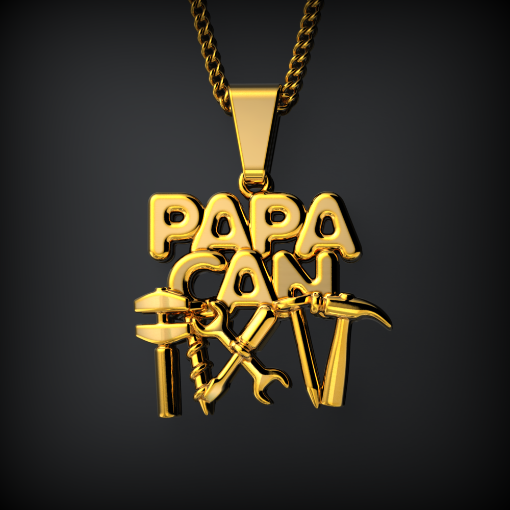 Papa Can Fix It Necklace
