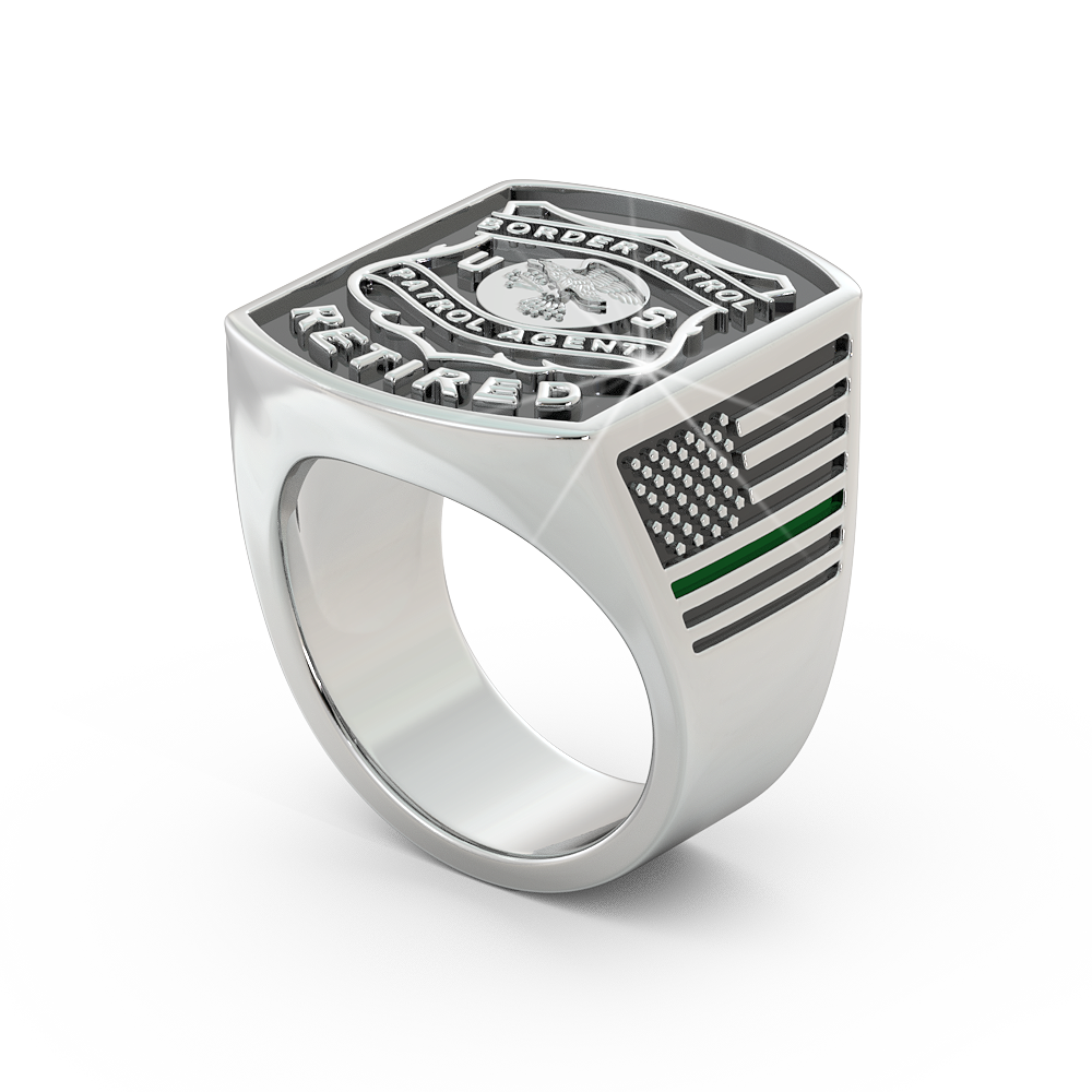 Retired Border Patrol Ring - Limited Edition