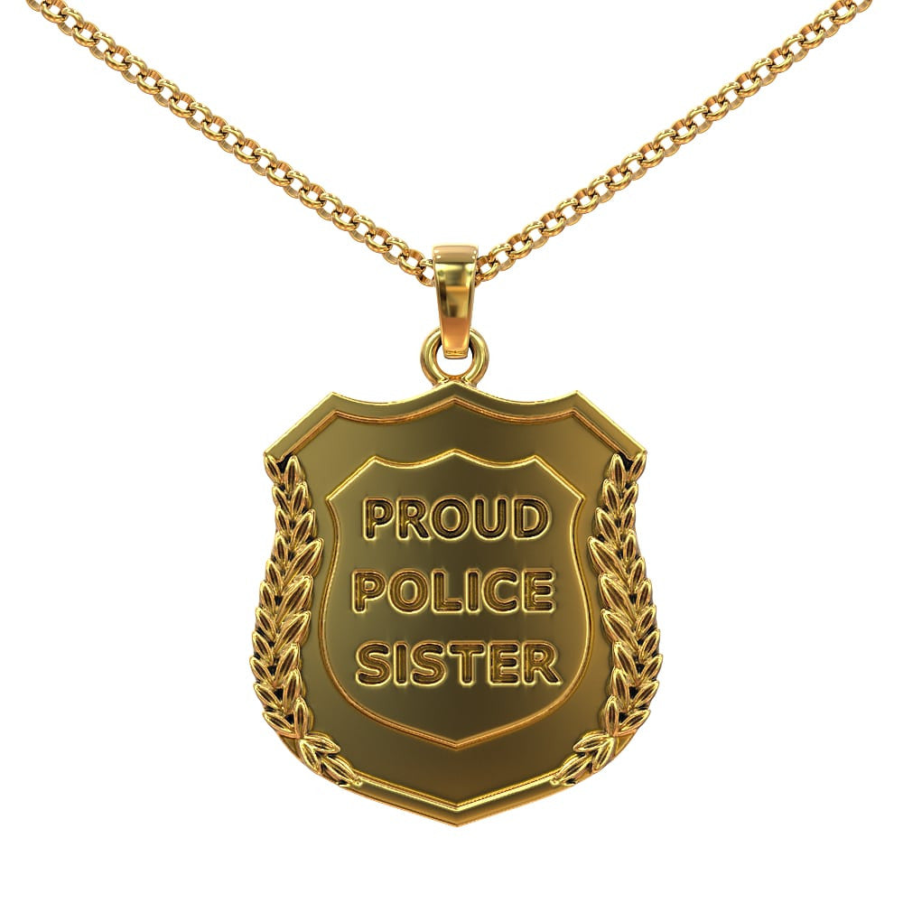 Proud Police Sister