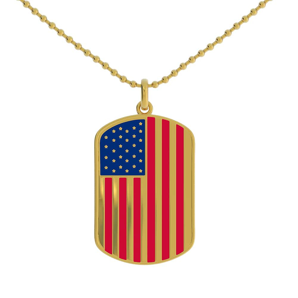 Irish American Dog Tag