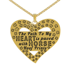 Hoof Print Necklace