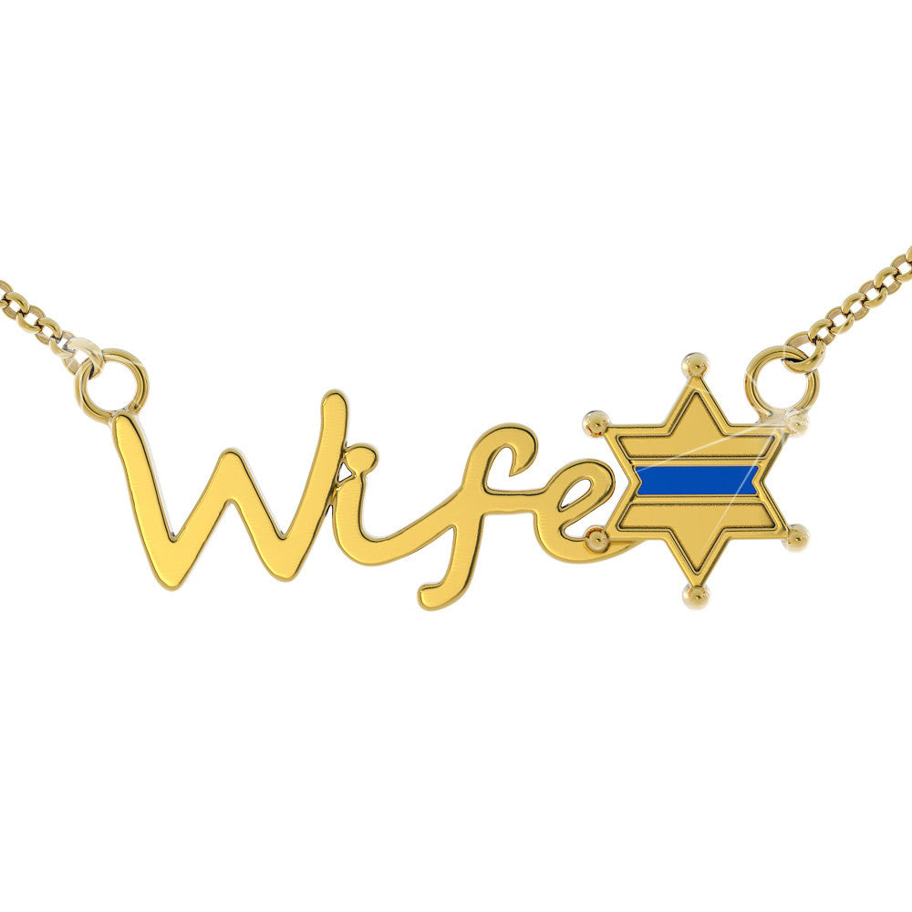 Sheriff Wife Necklace