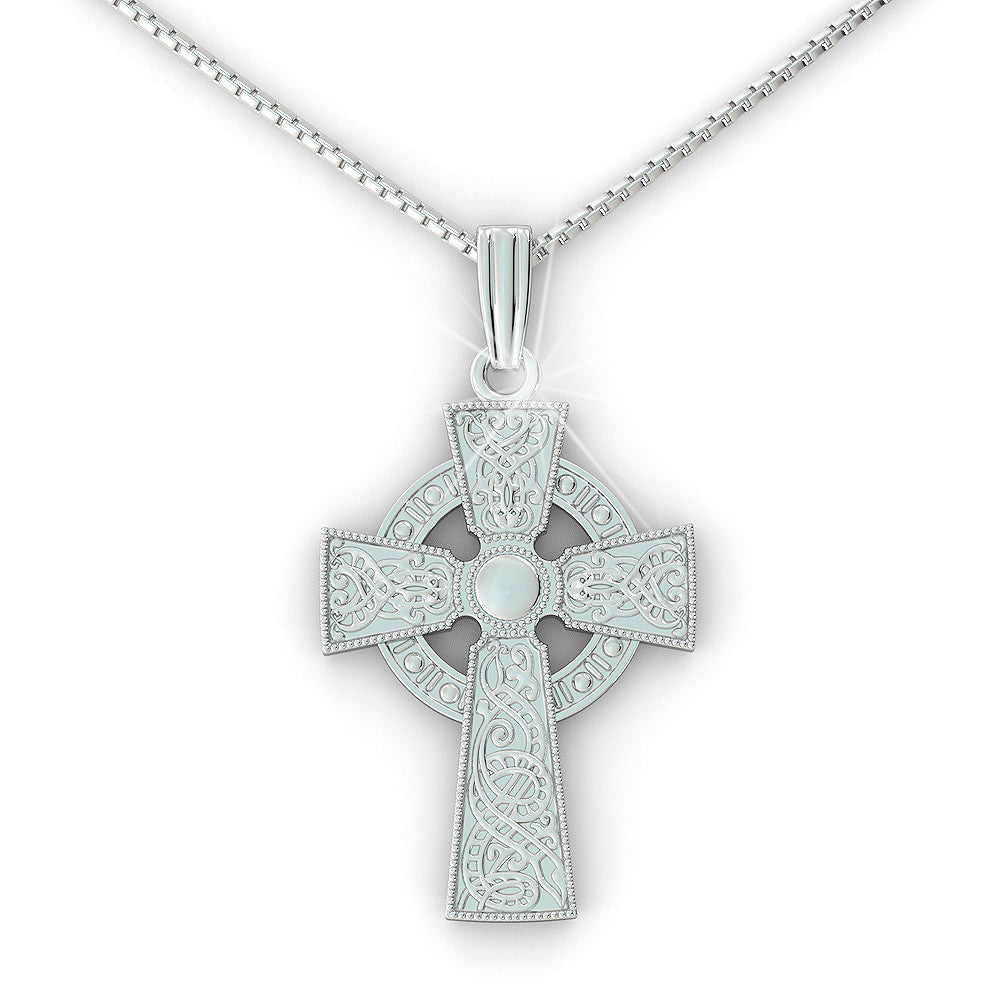 Celtic Cross Pendant (.925 silver)