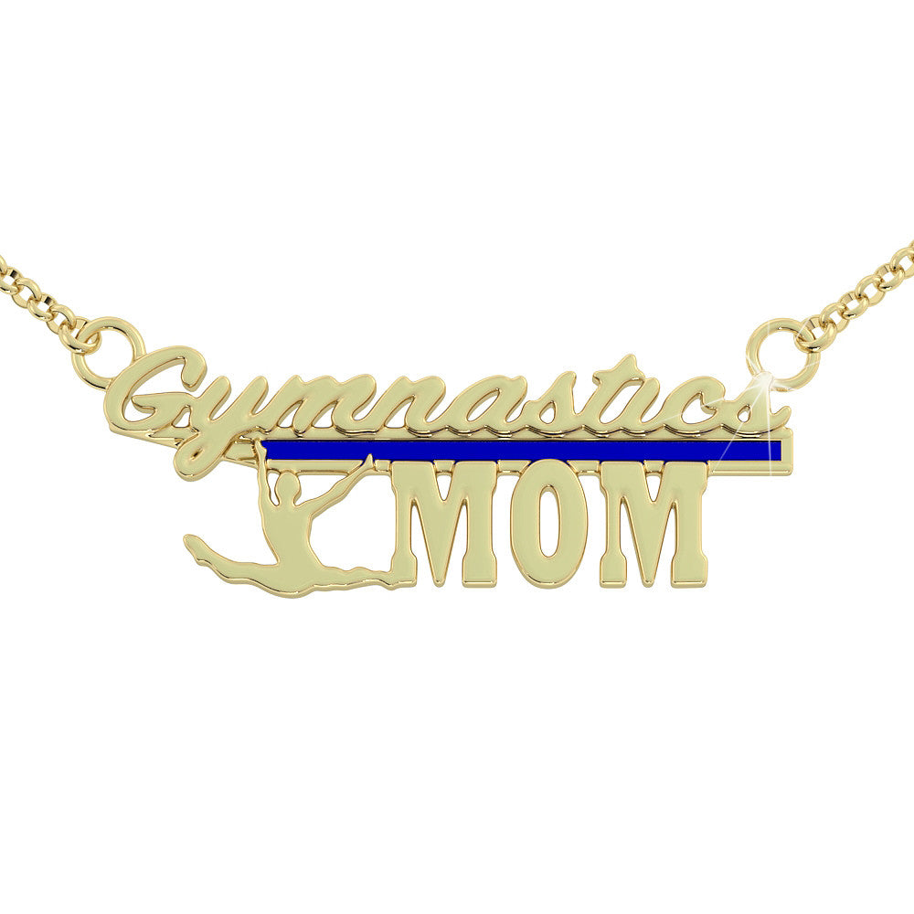 Gymnastics Mom Necklace