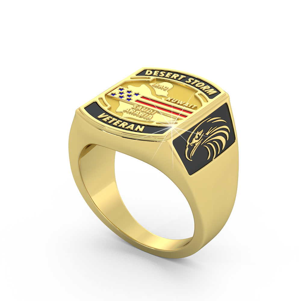 Operation Desert Storm Ring - Limited Edition