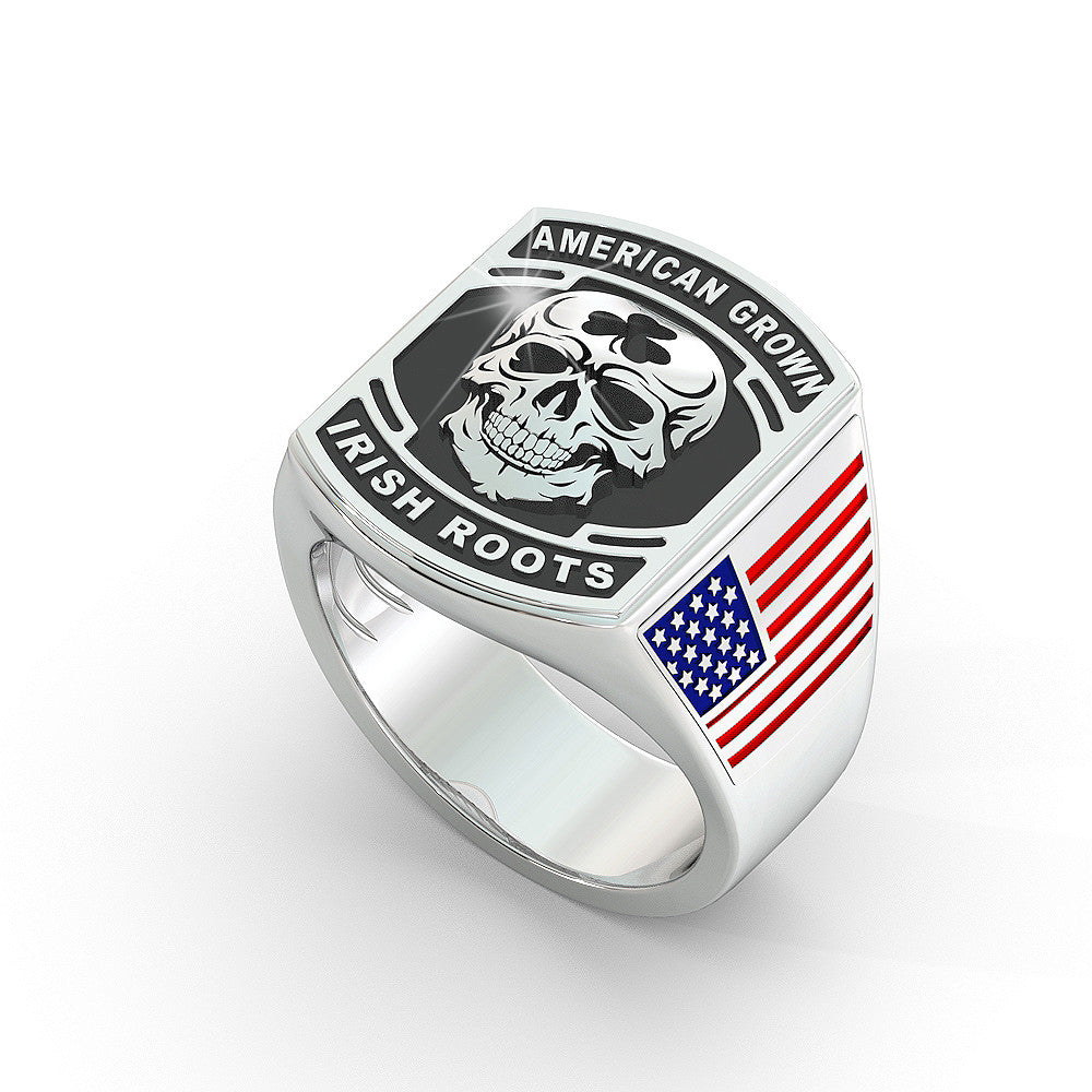 American Grown Irish Roots Ring