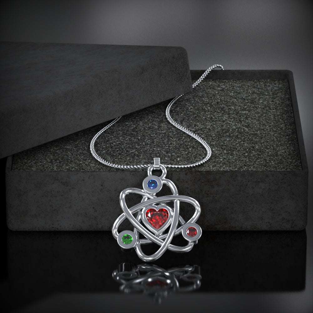 Atom Pedant Necklace - LIMITED EDITION
