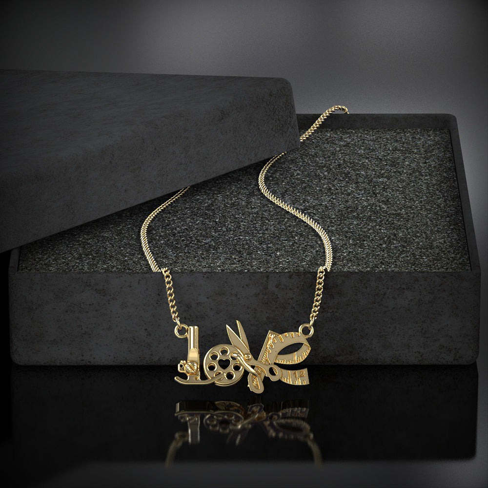 Sewing Love Necklace - STRICTLY LIMITED EDITION