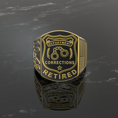 Corrections Officer Ring - Limited Edition