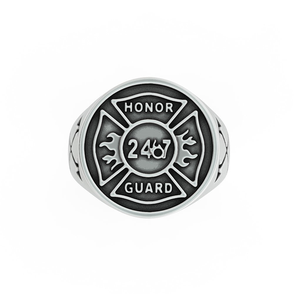 Honor Guard Fire Ring