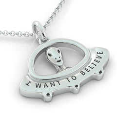 I want to Believe (.925 silver)