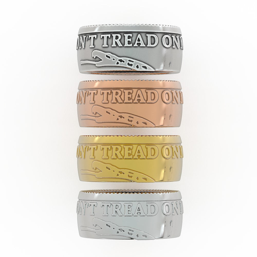 Don't Tread on Me Ring