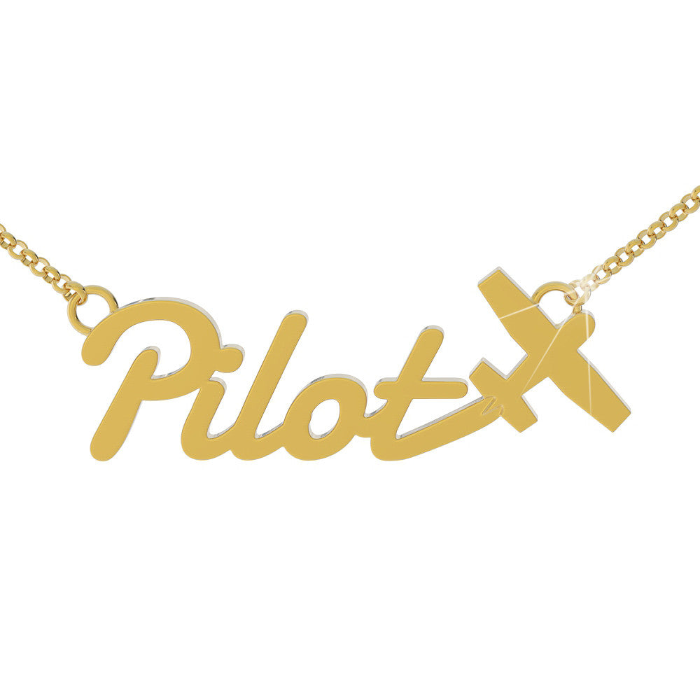 Pilot Necklace