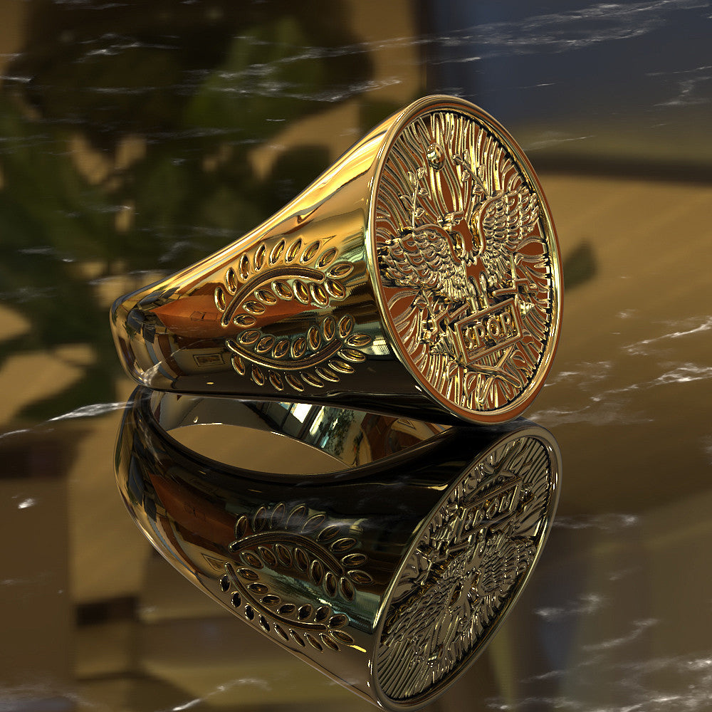 Exquisite Signet Ring For All Italians