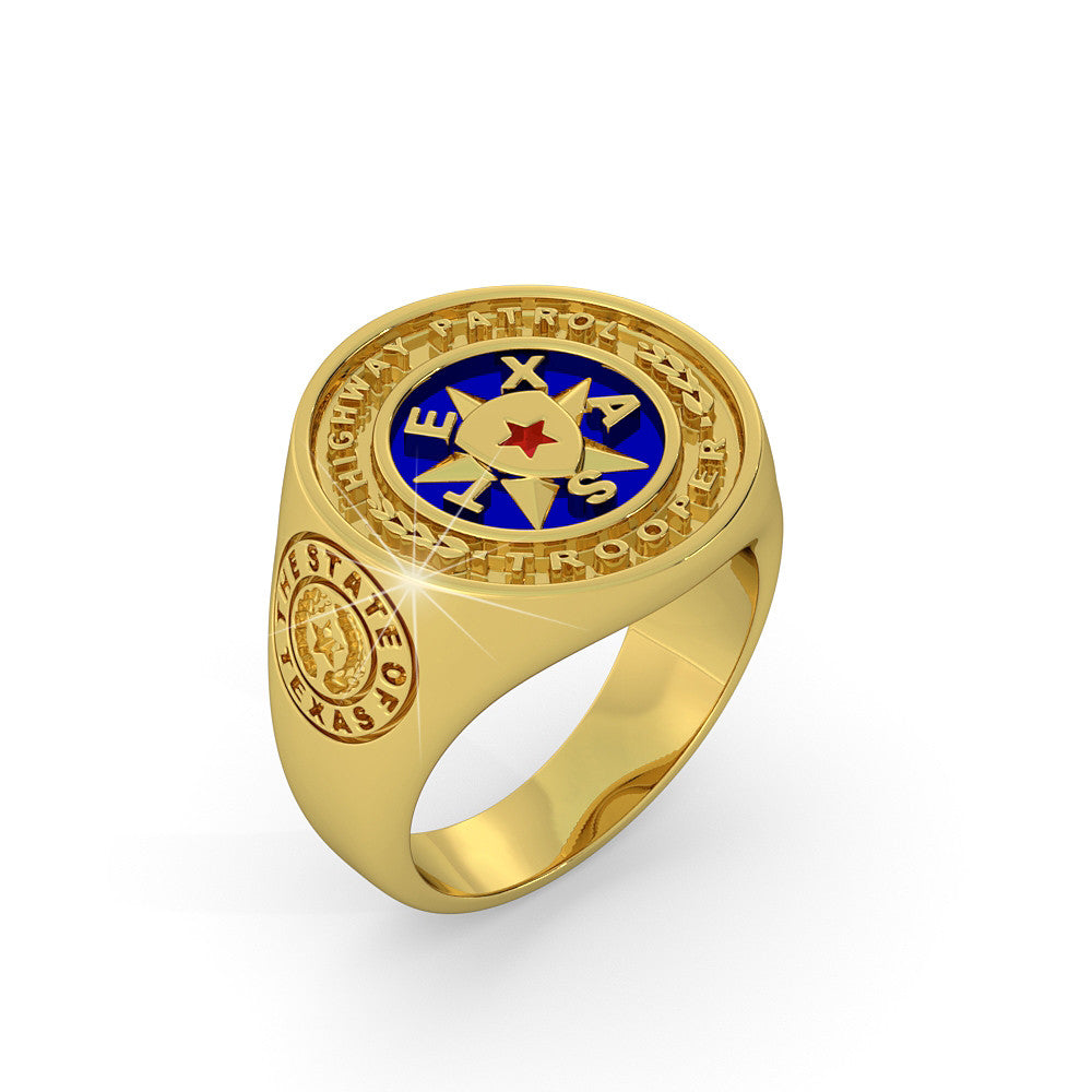 Texas Highway Partol Ring - Limited Edition