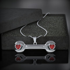 Wrench Heart Birthstone Necklace - LIMITED EDITION