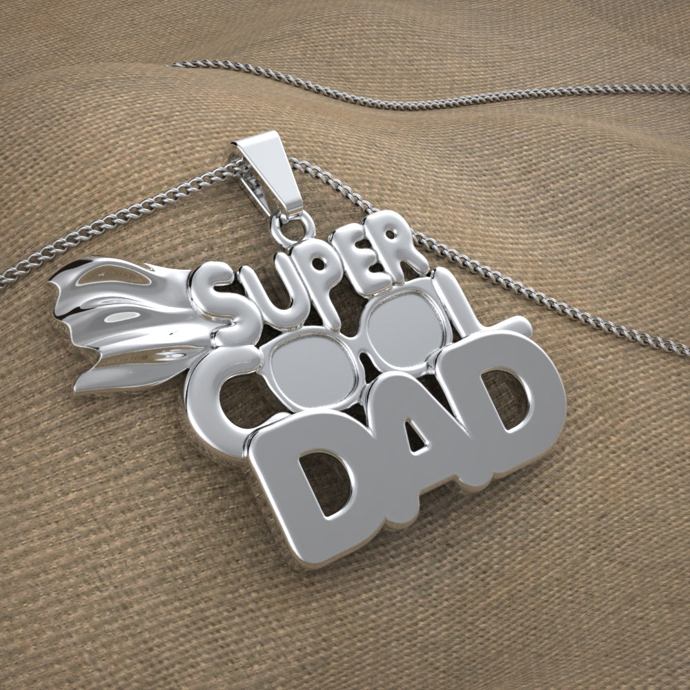 Super Cool Dad Necklace