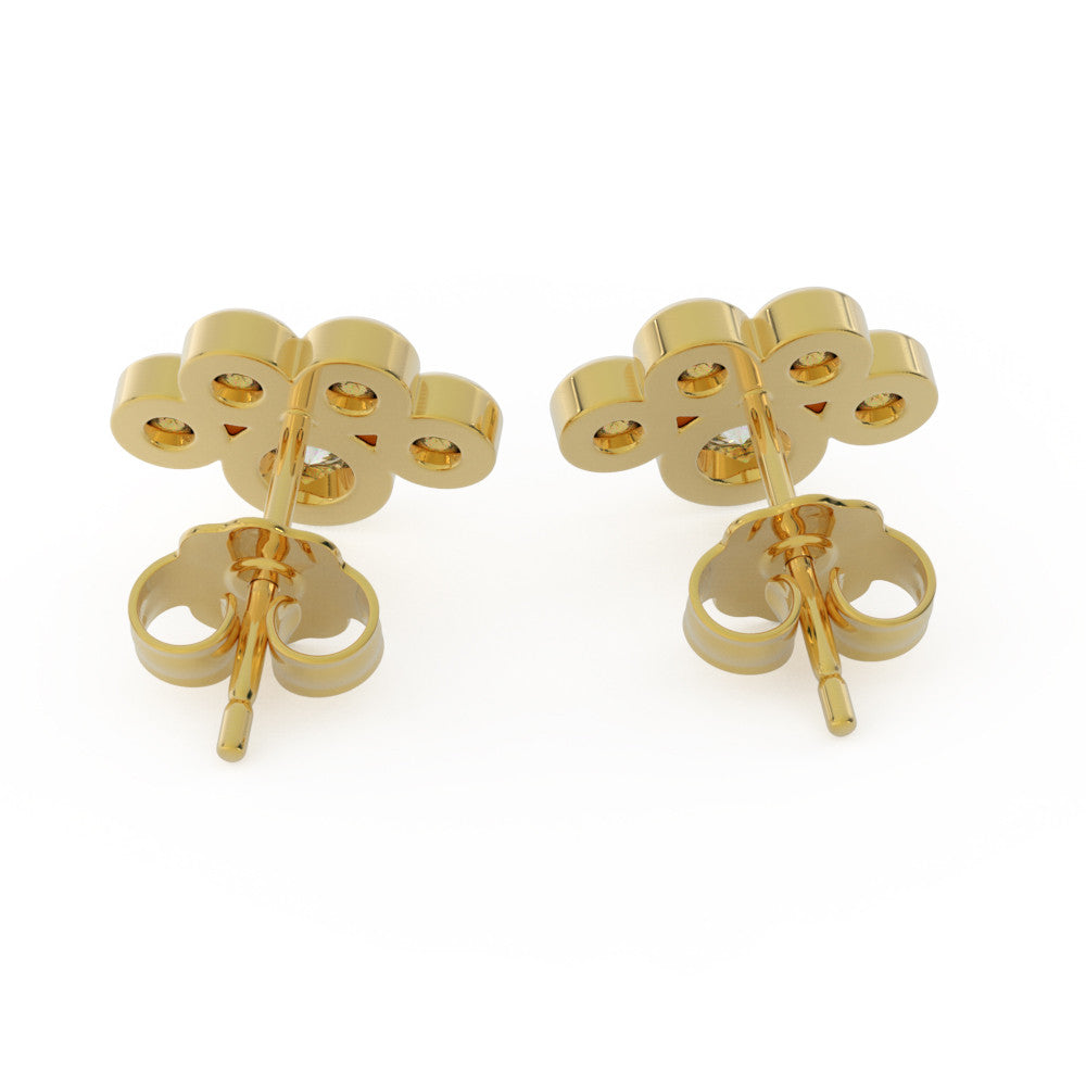 "Paw Print ""Diamond"" Earrings"
