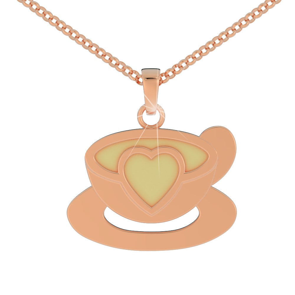 Love Coffee Pendant