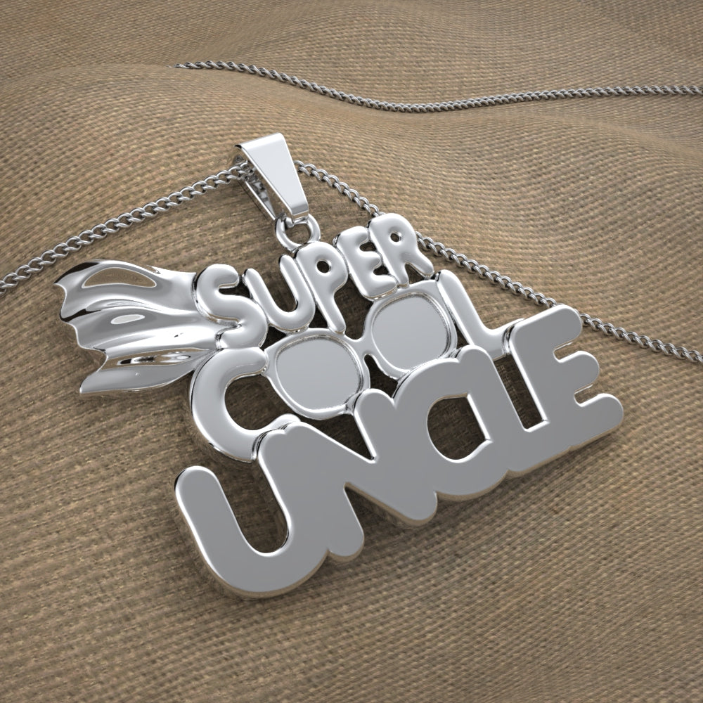 Super Cool Uncle Necklace