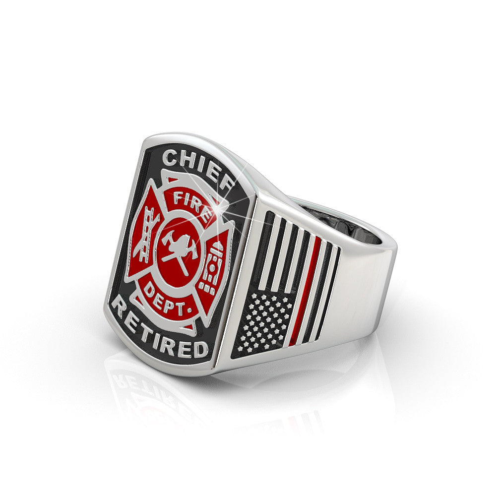 Retired Fire Chief Ring - Limited Edition