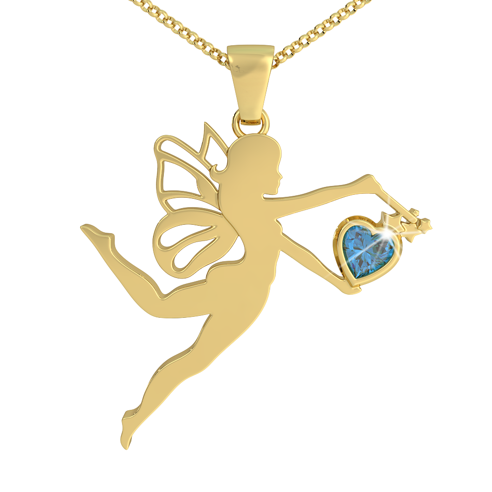 Fairy Dust - Birthstone Pendant