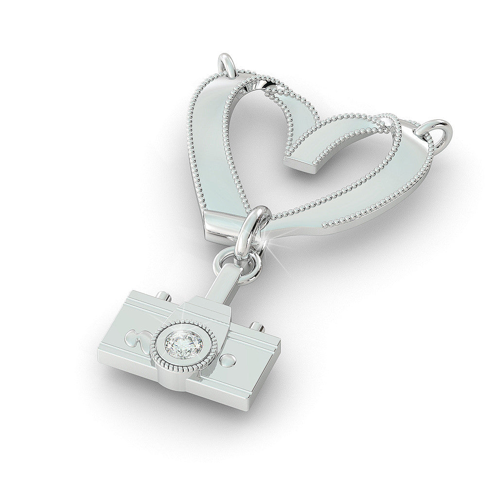 Photography Love Pendant (.925 silver)