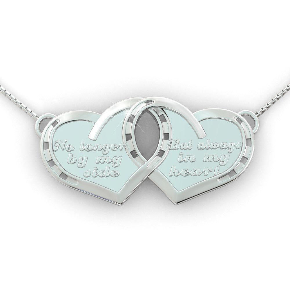 Always in my Heart Horse Pendant (.925 silver)