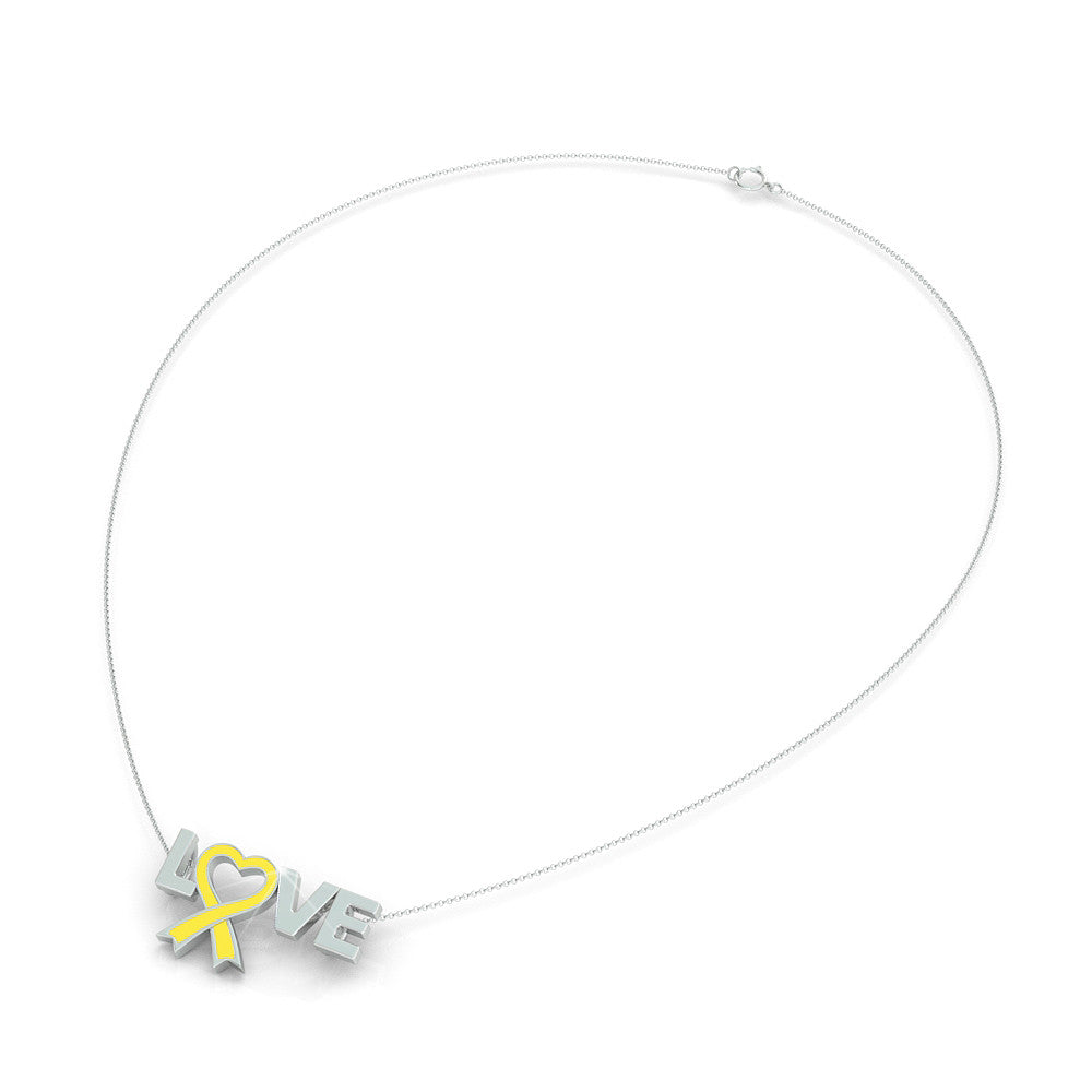 Childhood Cancer Awareness (.925 silver)