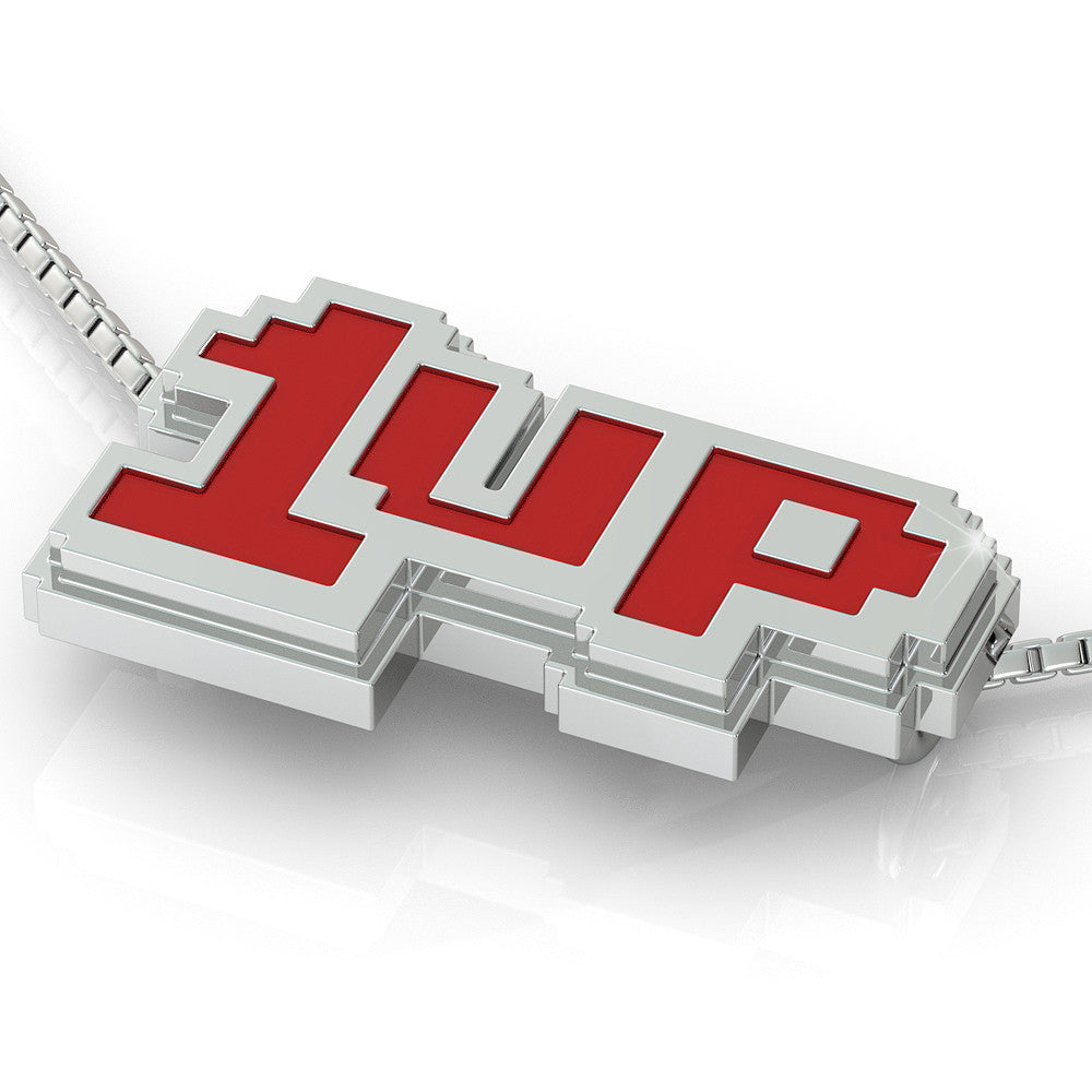 1UP Pendant (.925 silver)