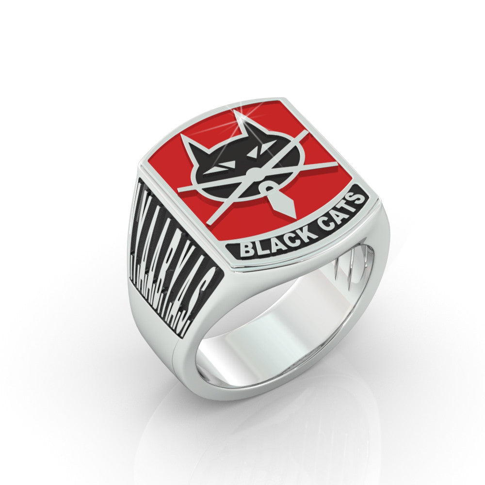 Det 2 Black Cats Ring  - Limited Edition