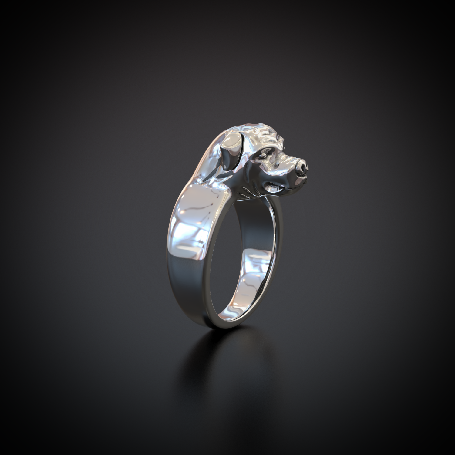 Rotty Head Ring - LIMITED EDITION