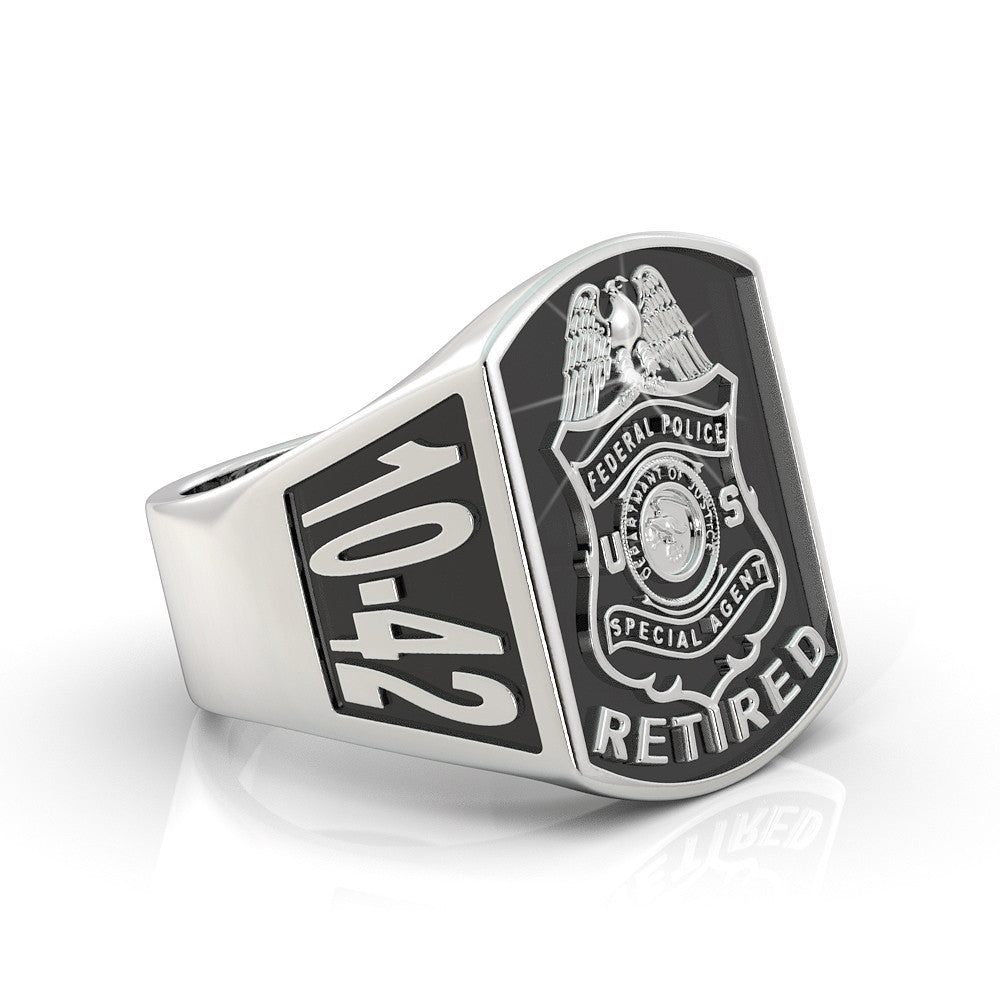 Federal Police Special Agent Retired Ring - Limited Edition