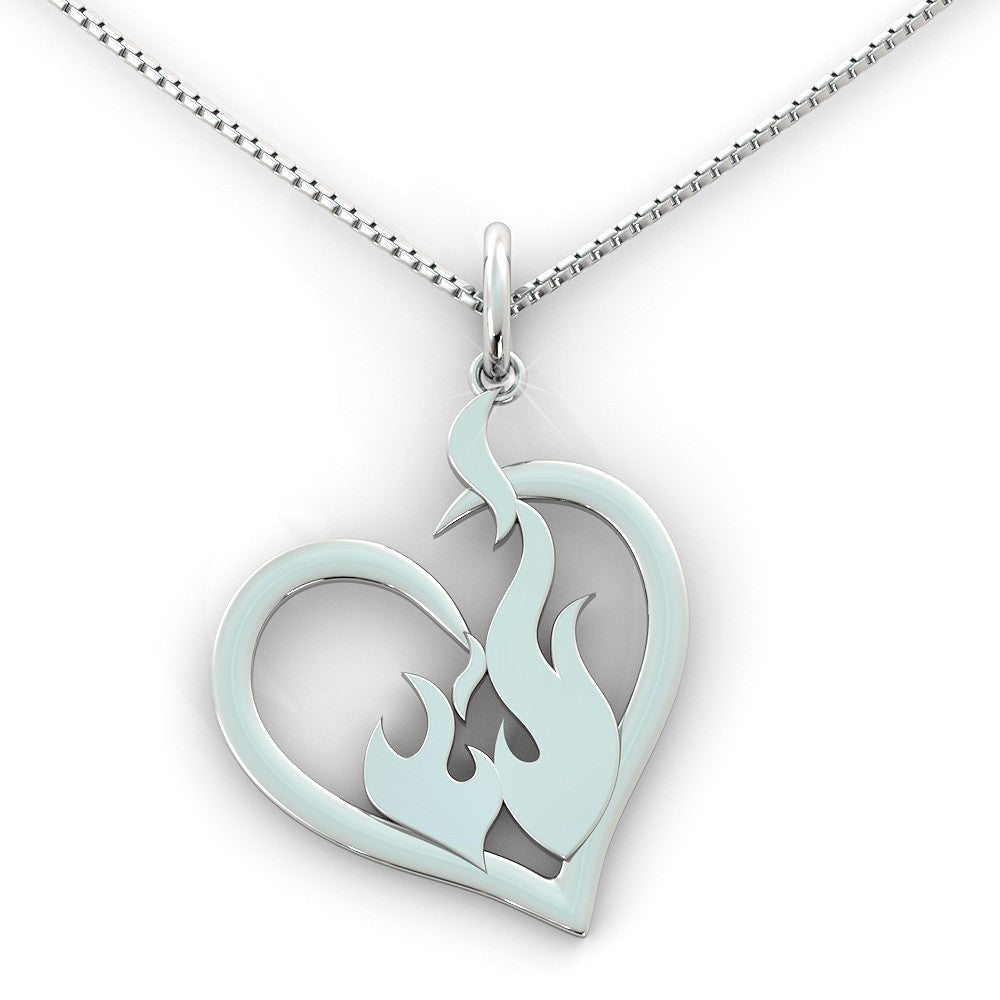 Firefighter Love Pendant