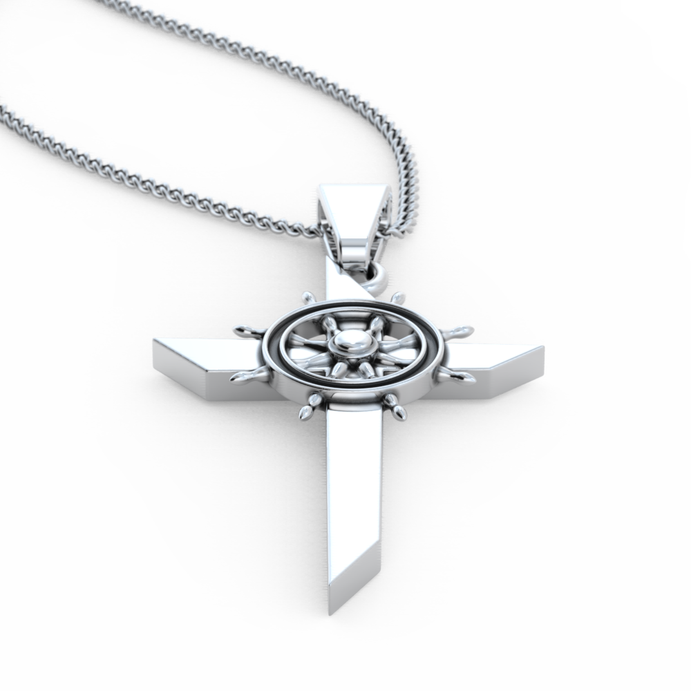 Helm Cross Necklace - LIMITED EDITION