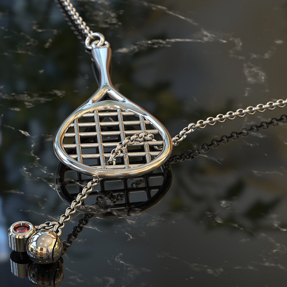 Tennis Birthstone Necklace
