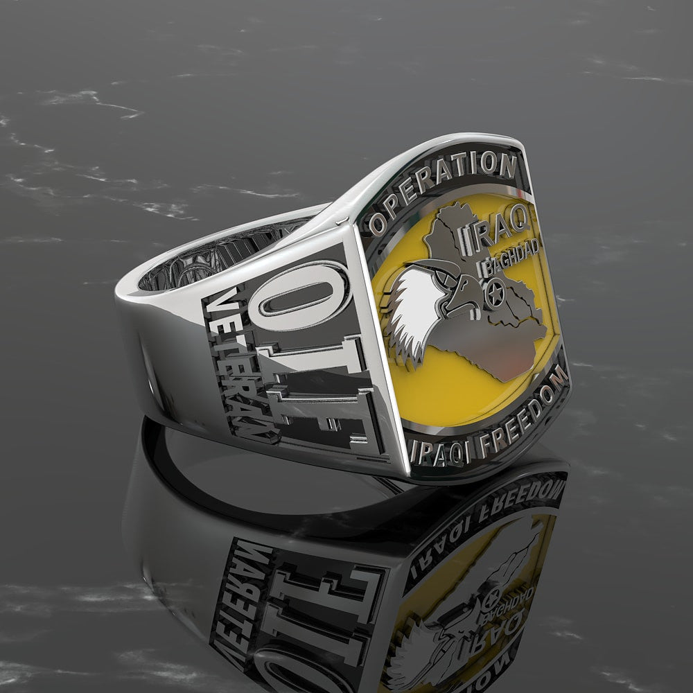 Operation Iraqi Freedom Veteran Ring - Limited Edition