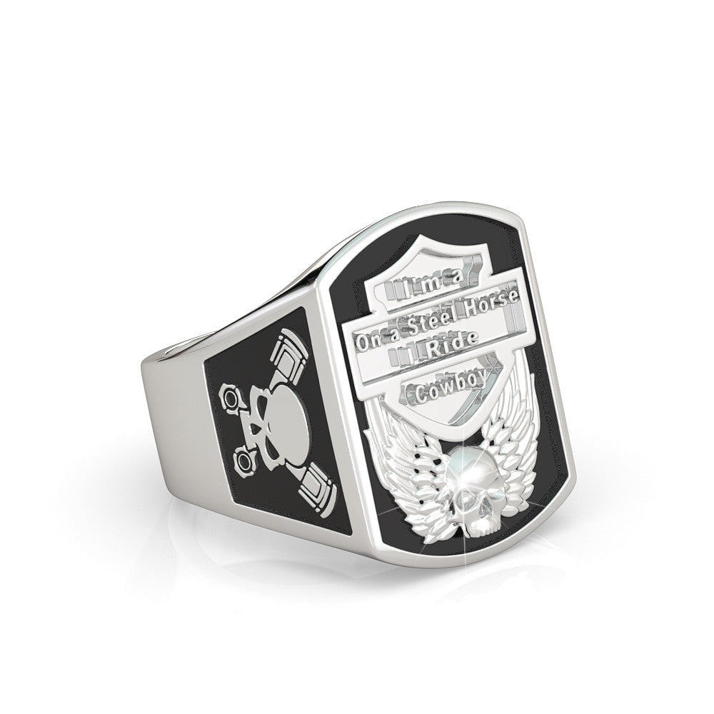 Steel Horse Ring - Limited Edition