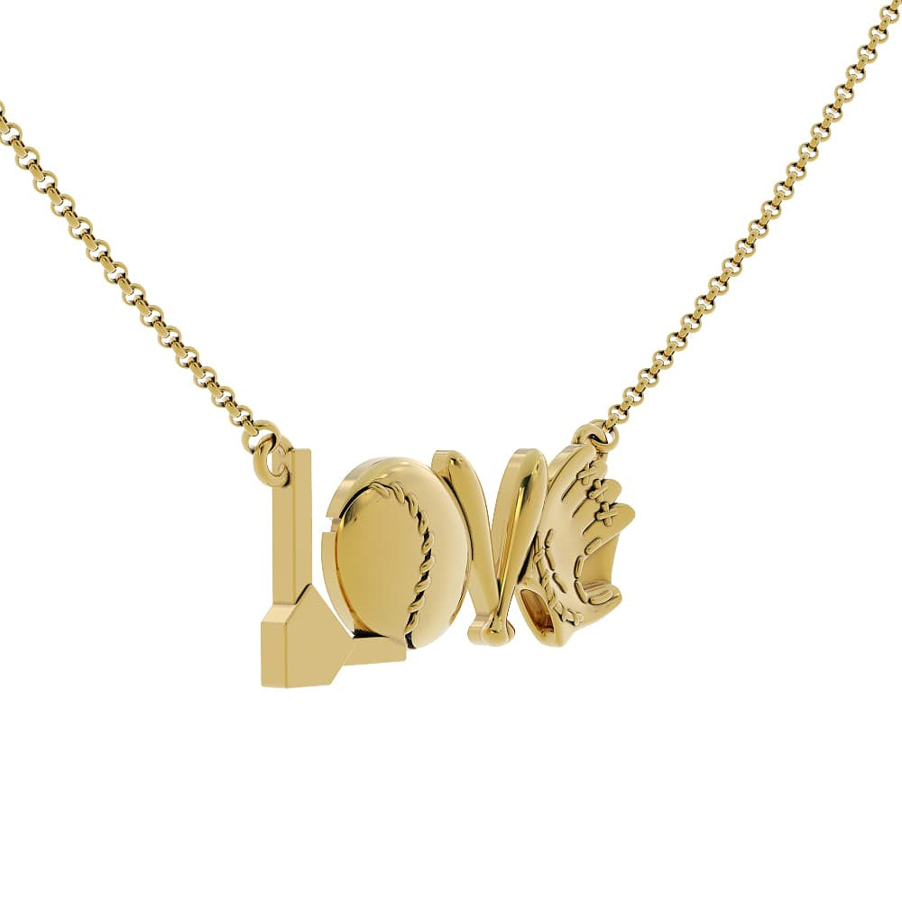Baseball Love Pendant